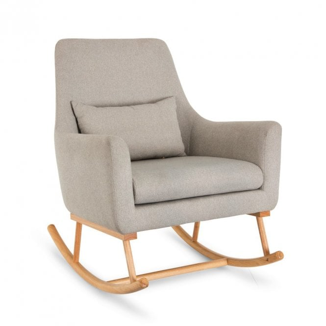 Oscar Rocking Chair - Pebble Grey