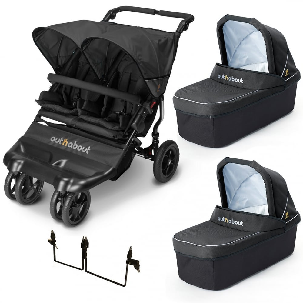 buy out n about little nipper double twin carrycot from. Black Bedroom Furniture Sets. Home Design Ideas