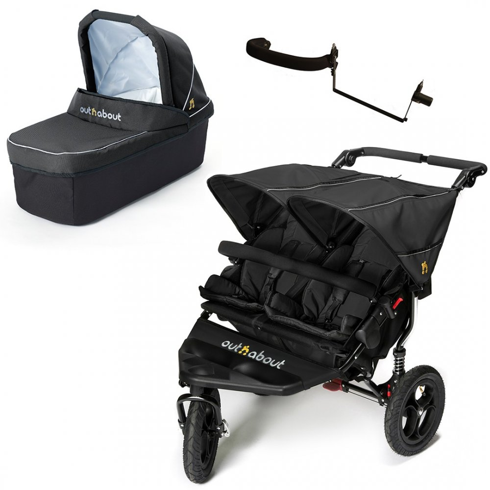 out n about nipper double v4 carrycot. Black Bedroom Furniture Sets. Home Design Ideas