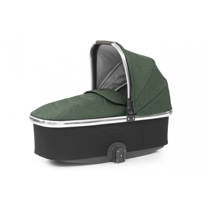 Oyster 3 Carrycot - Alpine Green On Mirror