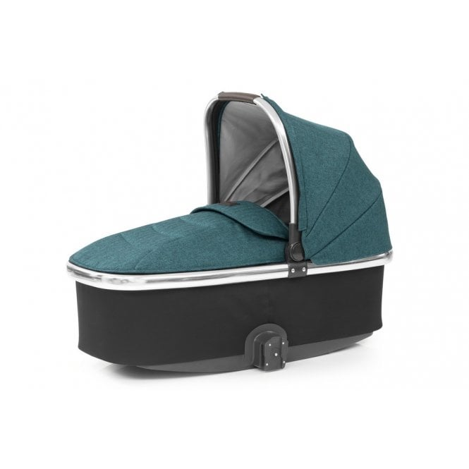 Oyster 3 Carrycot - Peacock On Mirror