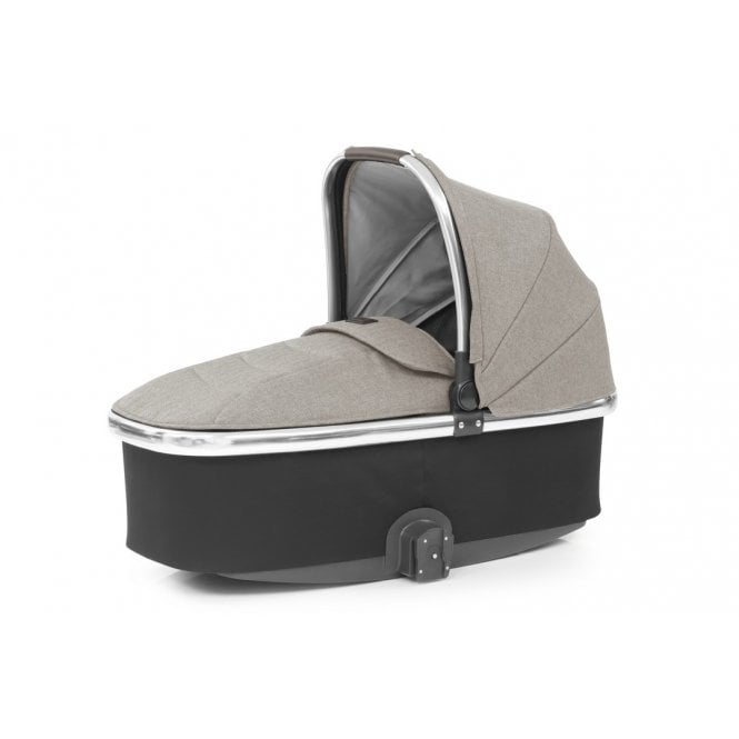 Oyster 3 Carrycot - Pebble on Mirror