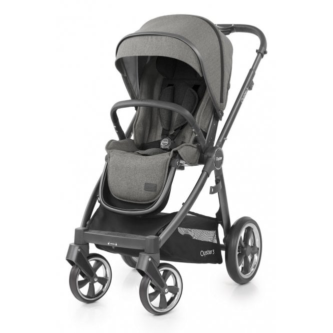 Oyster 3 Pushchair - Mercury On City Grey