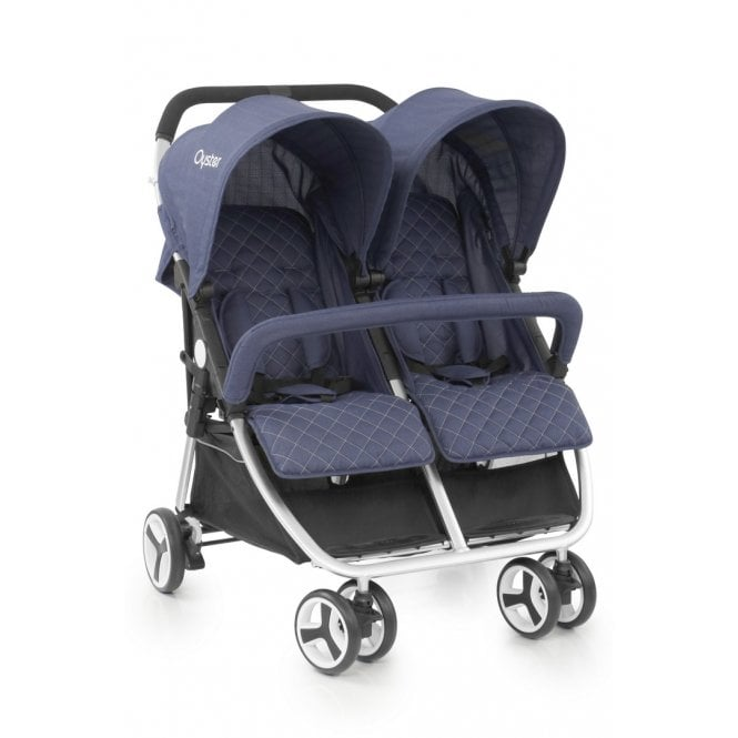 Oyster Twin Pushchair