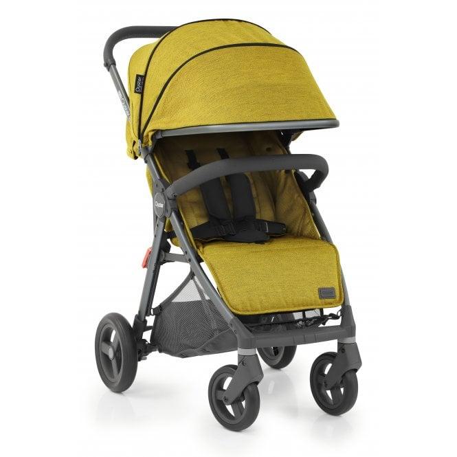 Oyster Zero Gravity Stroller - Mustard On City Grey