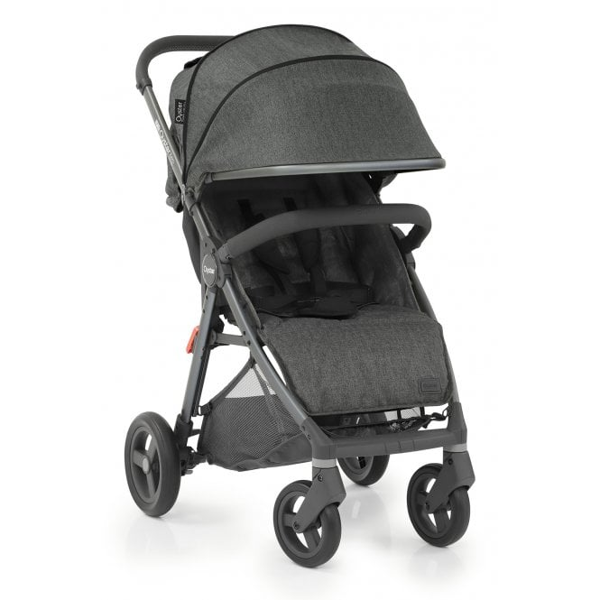 Oyster Zero Gravity Stroller - Pepper On City Grey
