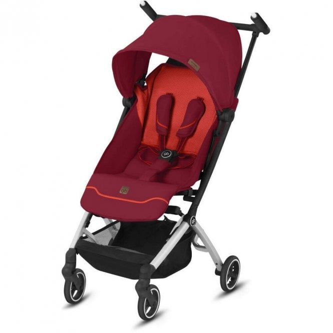 Pockit Plus All City Pushchair - Rose Red