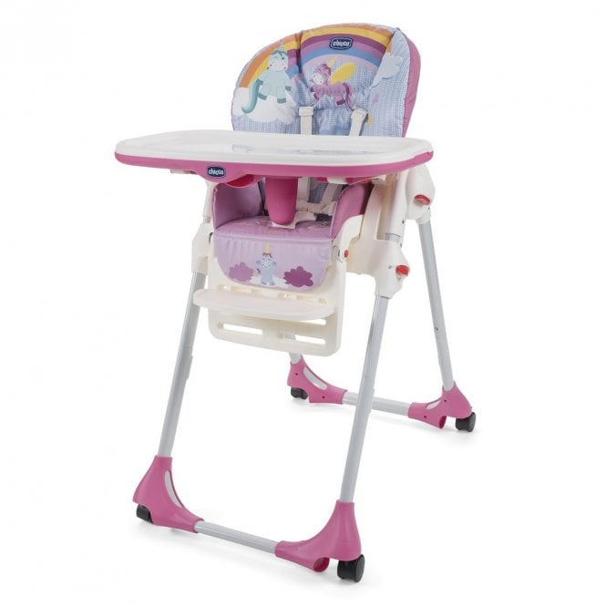 Polly Easy Highchair - Unicorn