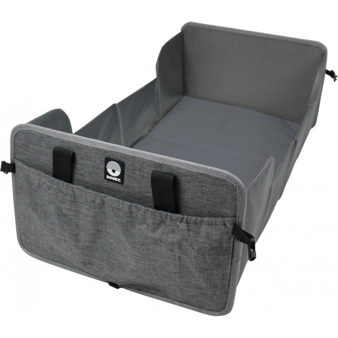 Portable Travel Cot - Grey