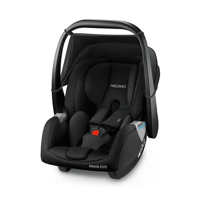 Privia Evo Car Seat - Performance Black