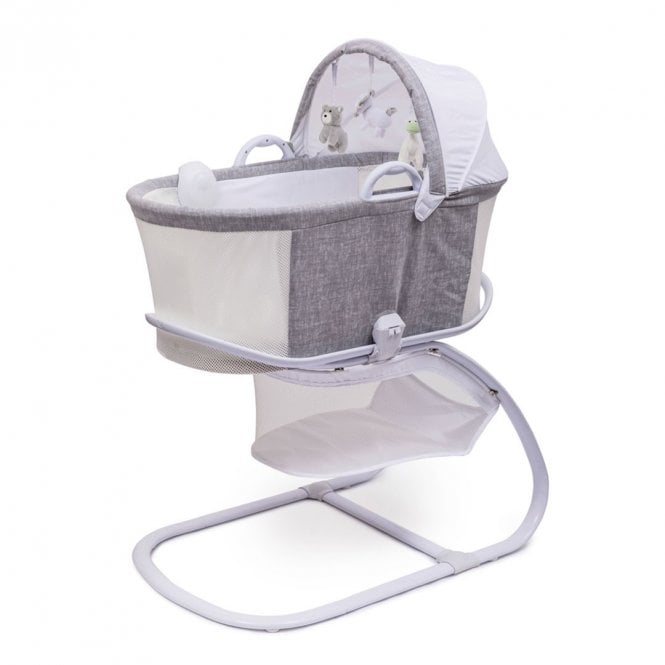 PurAir Breathable Bassinet - Marl Grey