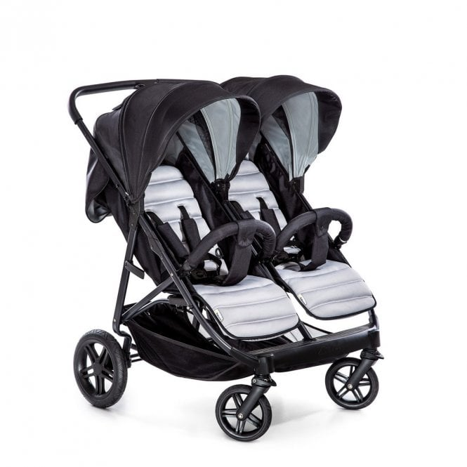 Rapid 3R Duo Pushchair - Silver / Charcoal