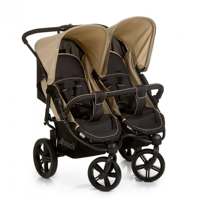 Roadster Duo SLX Double Pushchair - Caviar / Almond