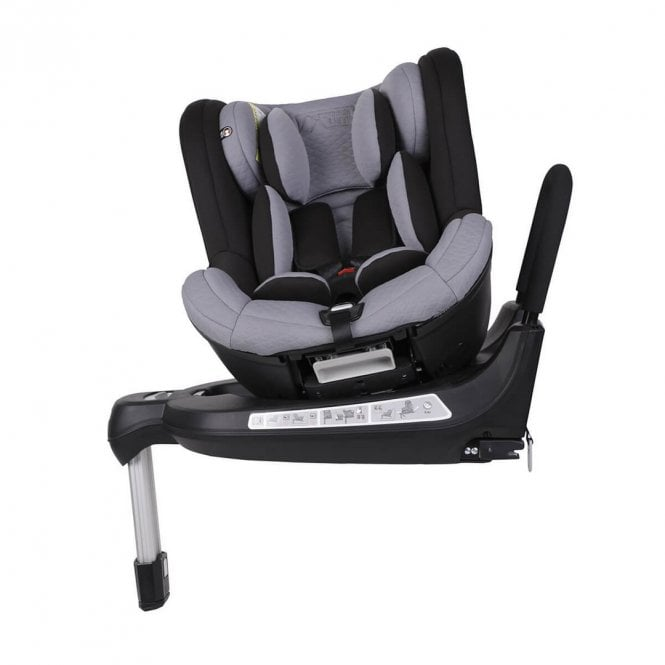 Safe Rotate 0+ 1 ISOfix Car Seat - Silver