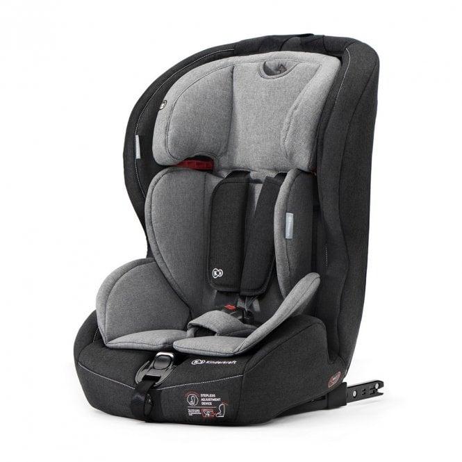 Safety-Fix Group 1 2 3 Car Seat - Black / Grey
