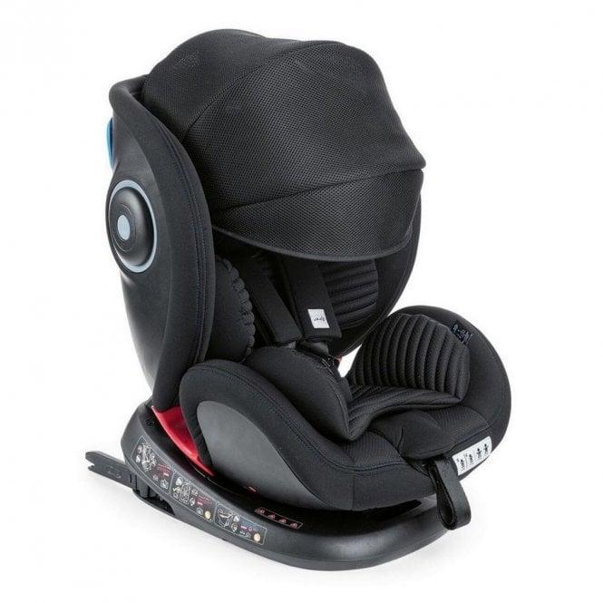 Seat 4 Fix Air Group 0+ 1 2 3 Car Seat - Black Air