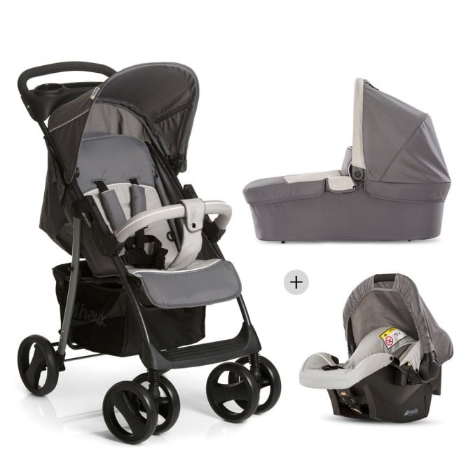 Shopper SLX Trio Set - Stone Grey