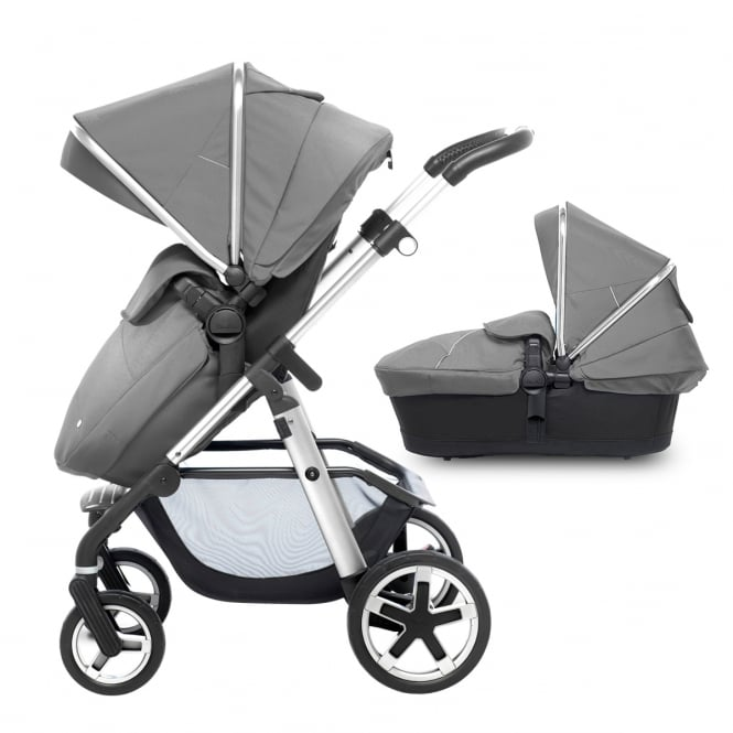 Silver Cross Pioneer Pram & Pushchair Silver Chassis