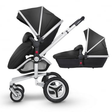 Surf 3 Pram & Pushchair Silver Chassis