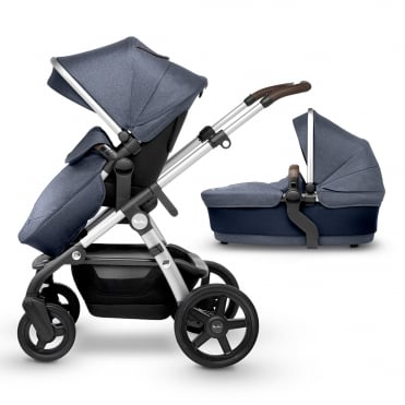 Wave Pushchair and Carrycot