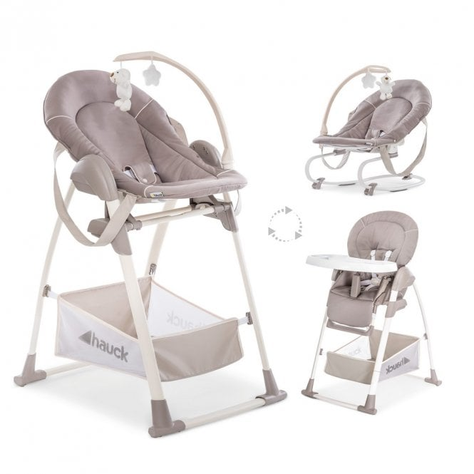 Sit n Relax 3 in 1 High Chair Set - Stretch Beige
