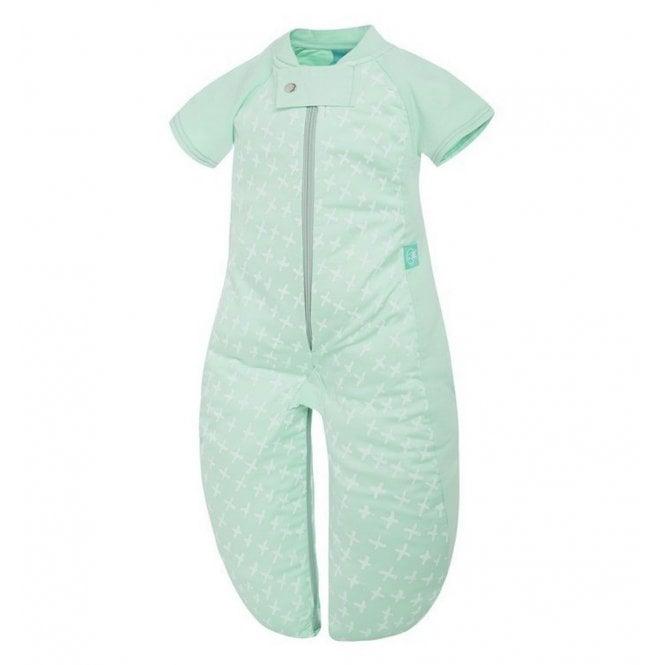 Sleep Suit Bag 1.0 Tog - Mint Cross - 2-4 Years