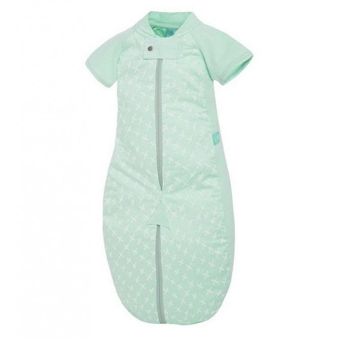 Sleep Suit Bag 1.0 Tog - Mint Cross - 8-24 Months