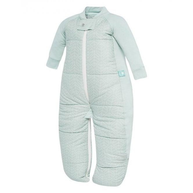 Sleep Suit Bag 3.5 Tog - Mint Leaves - 4-6 Years