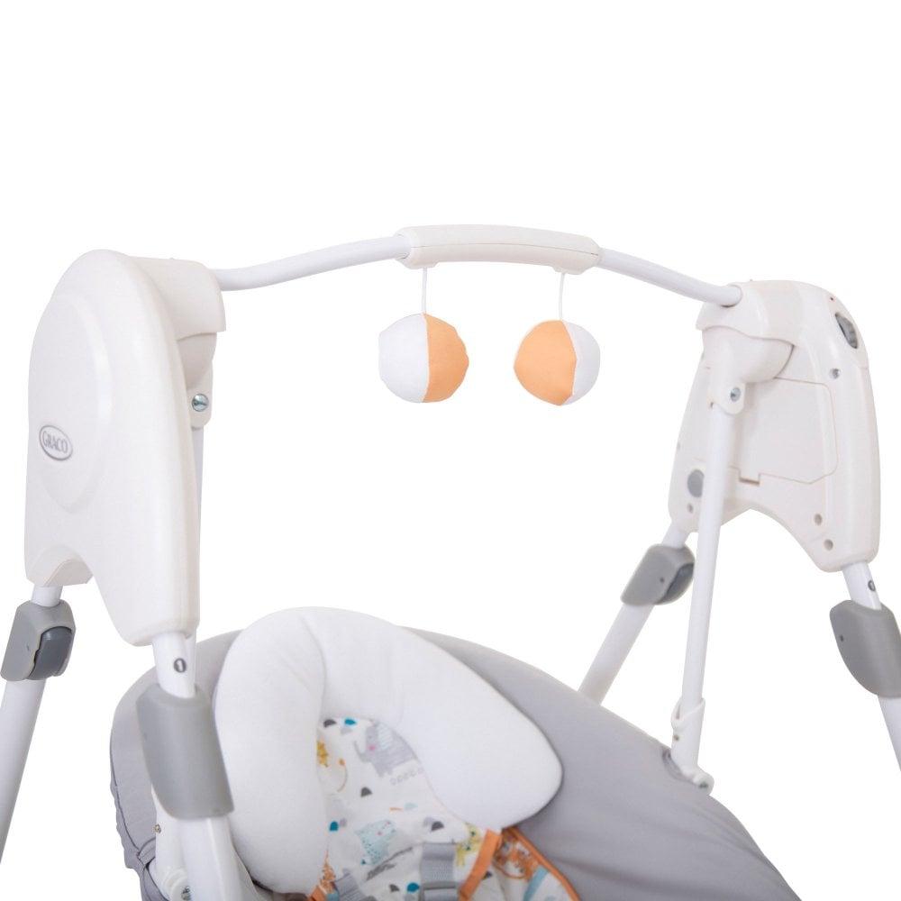 Baby Products Swings & Chair Bouncers Linus Graco Slim Spaces 2-in-1 Swing
