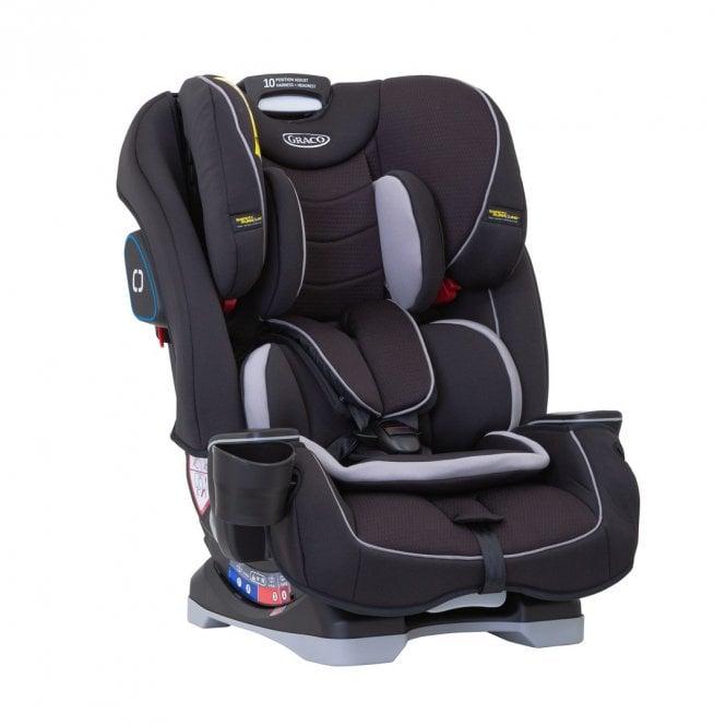 SlimFit Group 0+ 1 2 3 Car Seat - Black
