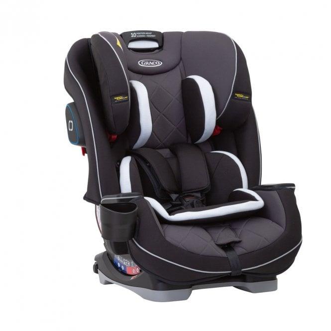 SlimFit LX Group 0+ 1 2 3 Car Seat - Black