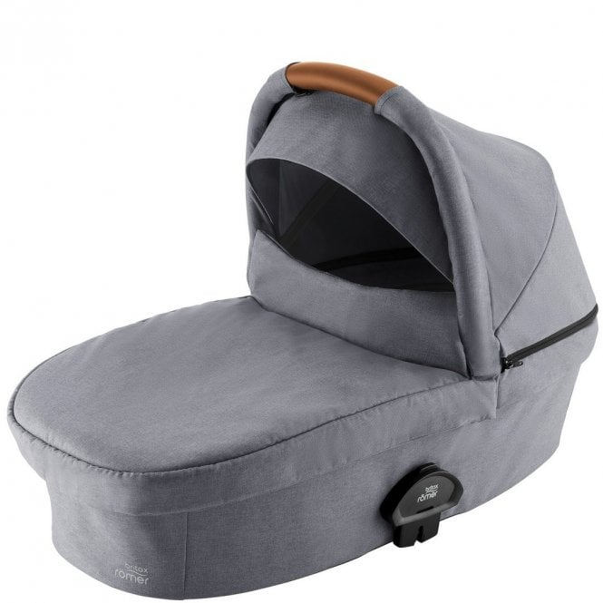 Smile III Hard Carrycot - Frost Grey