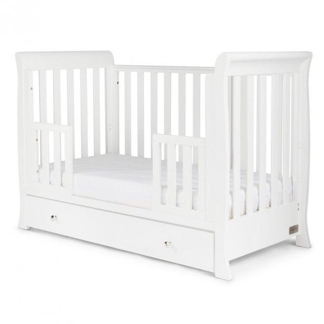 Snowdon 4 in 1 Mini Cot Bed - White