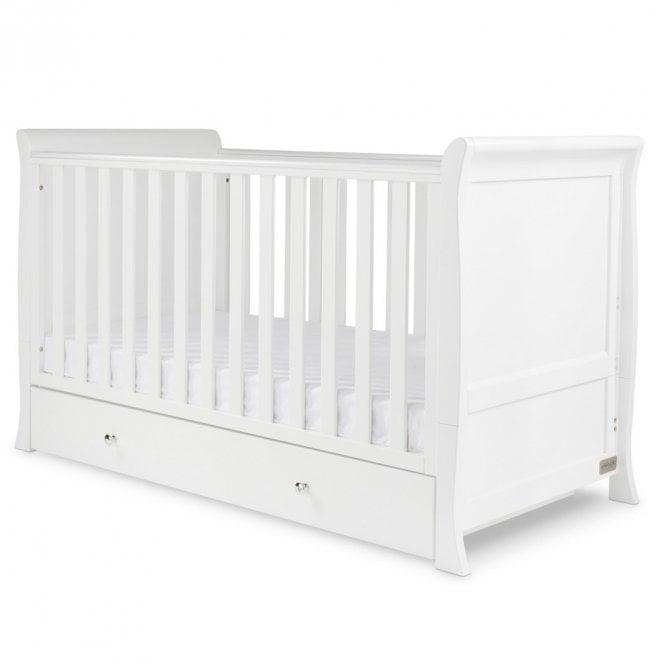 Snowdon Classic Cot Bed - White
