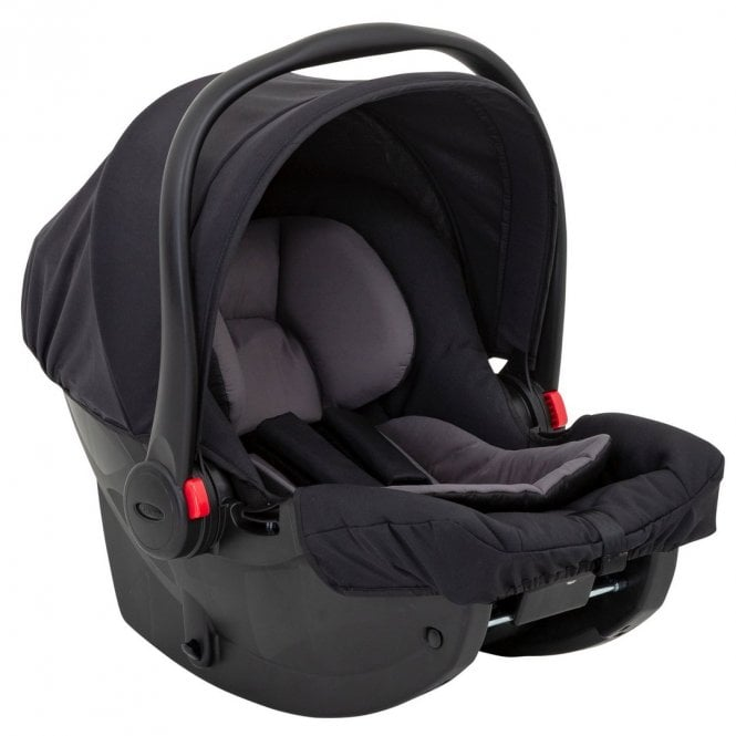 SnugEssentials i-Size Car Seat - Midnight Black