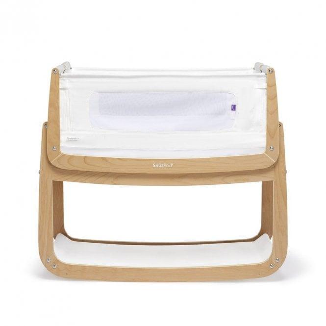 Pod4 Bedside Crib - Natural