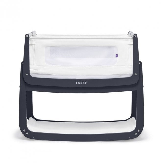 Pod4 Bedside Crib - Navy