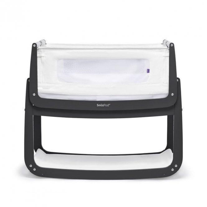Pod4 Bedside Crib - Slate