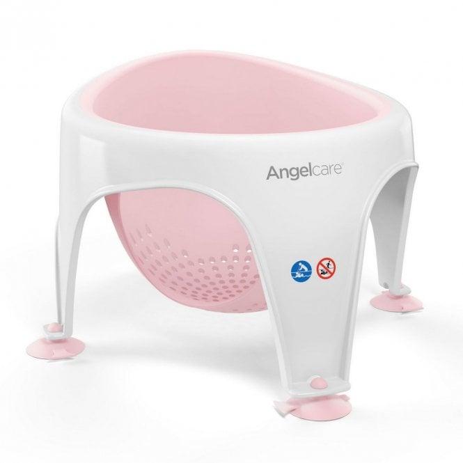 Soft Touch Bath Seat - Pastel Pink