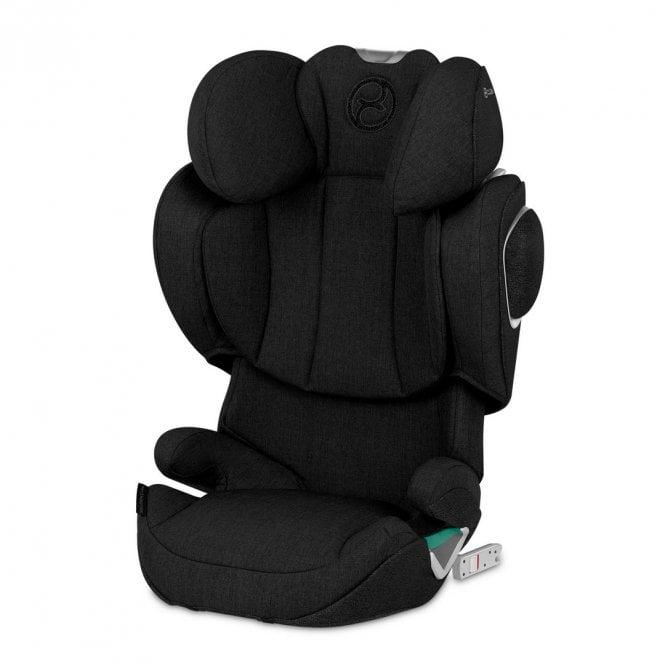 Solution Z i-Fix Plus Car Seat - 2020 - Deep Black