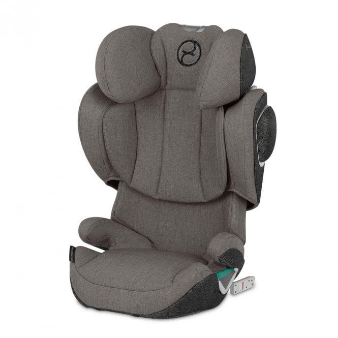 Solution Z i-Fix Plus Car Seat - 2020 - Soho Grey