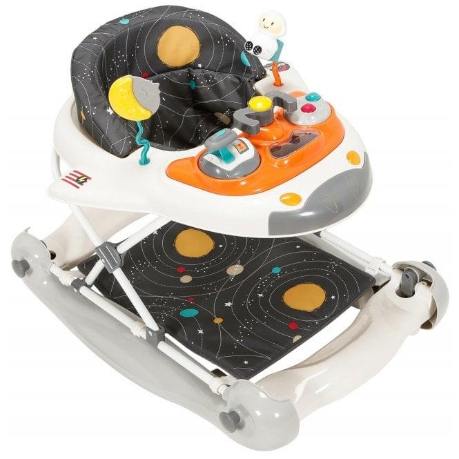 Space Shuttle 2 in 1 Walker Rocker - Cosmic Grey