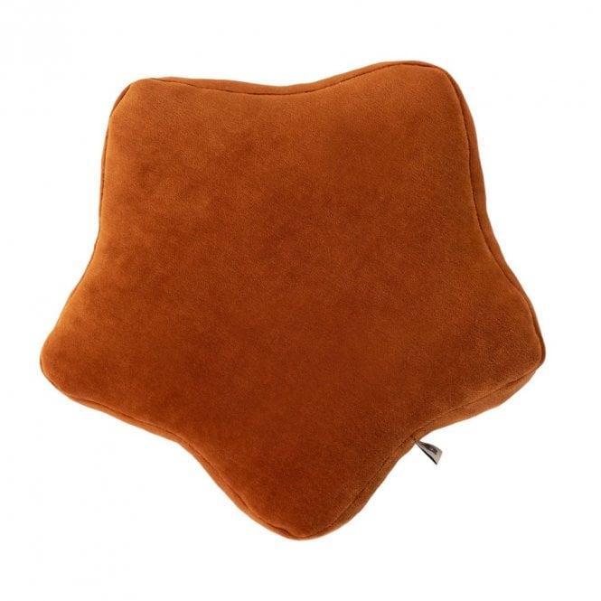 Star Cushion - Cinnamon