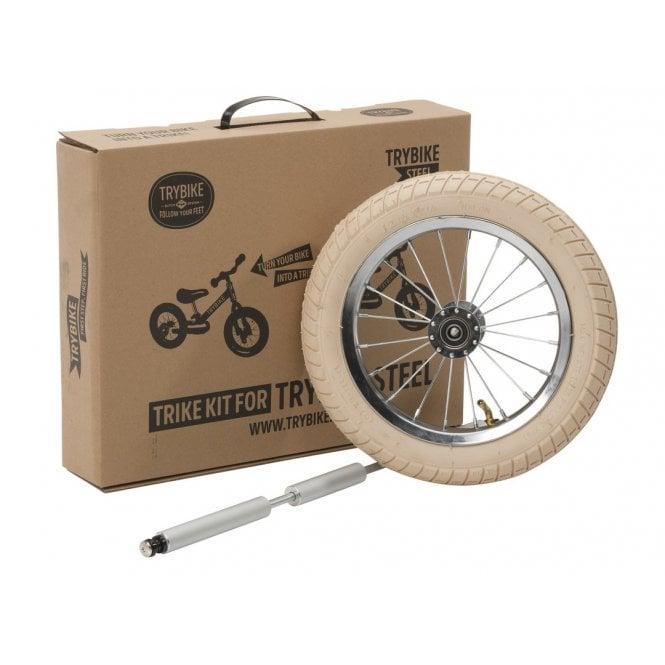 Steel 2 in 1 Balance Bike Trike Kit - Vintage