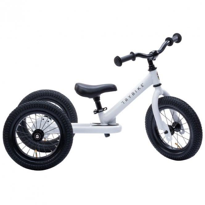 Steel 2 In 1 Balance Trike - White