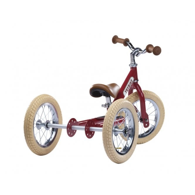 Steel 2 in 1 Vintage Balance Bike