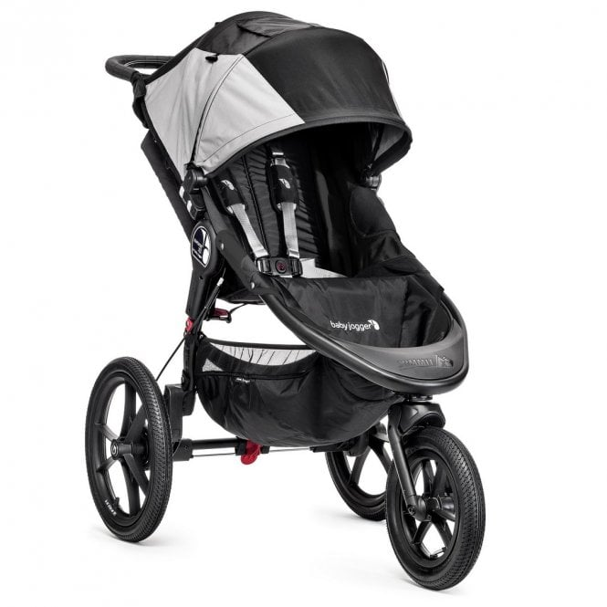 Summit X3 Single Stroller - Black / Grey