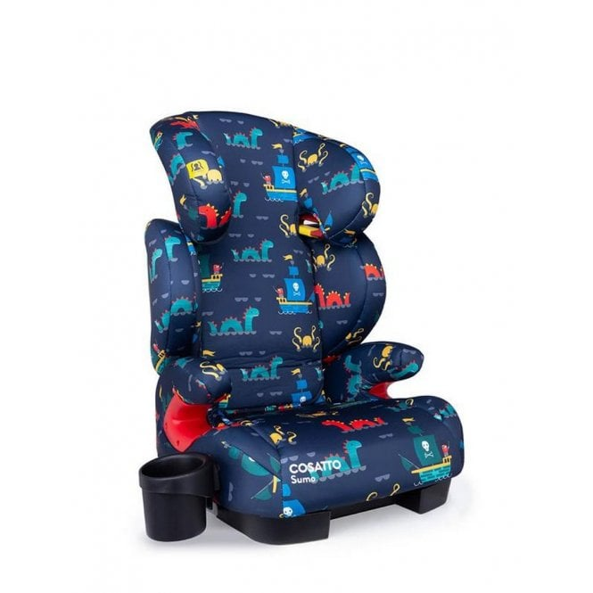 Sumo Group 2 3 ISOfix Car Seat - Sea Monsters