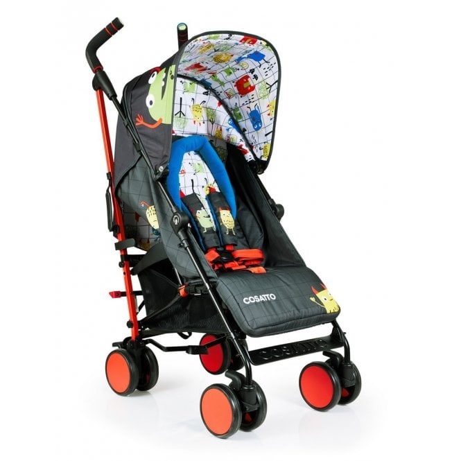 Supa 2018 Pushchair - Monster Mob (Discontinued 12 February 2020)