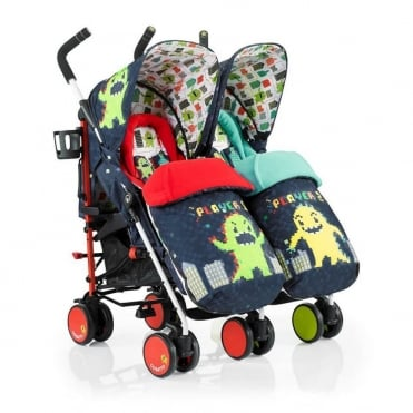 Supa Dupa Twin Pushchair